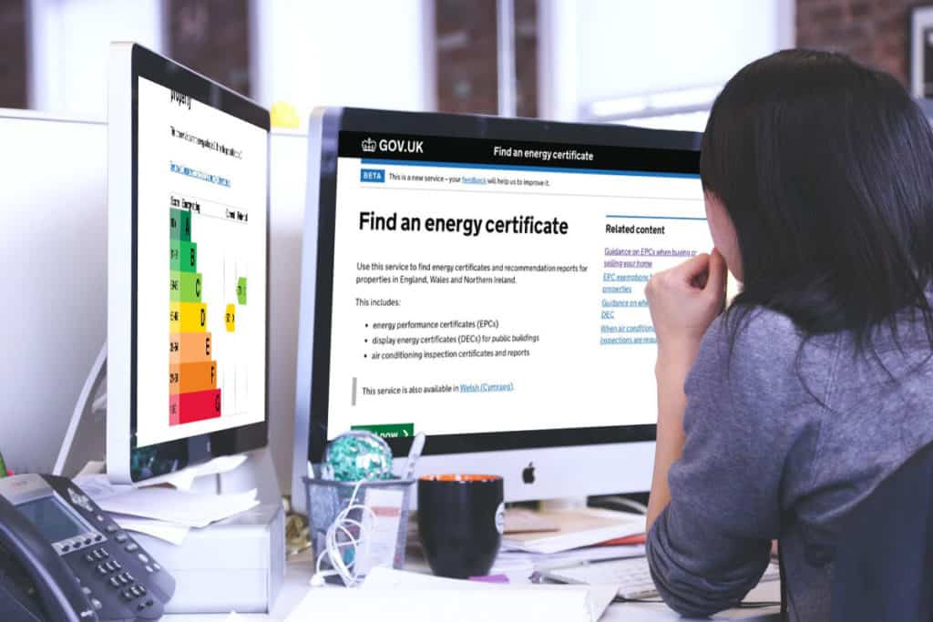 Lookup your EPC Rating